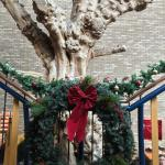 The Tree and a Wreath