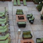 Gathering areas around fire pits