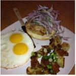 Peruvian breakfast plate- yum!