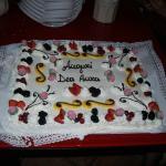 La mia torta :)