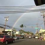 Rainbow over Paia