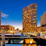 Waterfront View of the Miami Marriott Biscayne Bay