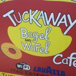 Outside Sign Tuckaway Coffee Shop