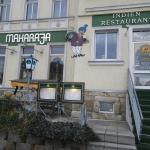 Maharaha Restaurant Erfurt  Frontansicht