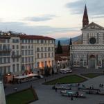 Vista desde la habitación, Plaza Santa Maria Novella