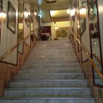 Up the stairs to the second floor to Jaipur Indian Restaurant
