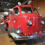 The American La France engine.