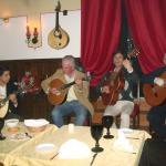 The Fado guitar players