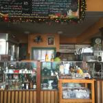 Inside Art Cafe. I came here based on good reviews for a Western style breakfast. I ordered panc