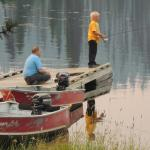 Dock where you can fish (and catch something)