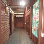 hallway of the house