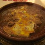 Tagine Kefta with Poached Egg