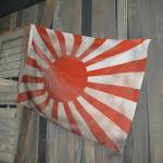 Japanese Flag During WW2