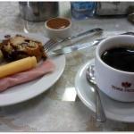 O café da manhã é um dos pontos altos