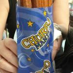 Fresh, sweet, crispy churros - yummy!