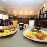 Join us for a Hot Breakfast Served Daily 5:30 - 9:30am