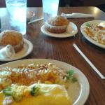 Our meatlovers & chicken, broccoli,  cheddar omlets, hashbrowns &  muffins   $9each