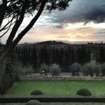 Dusk in Tuscany