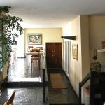 Rear Atrium & reading area