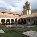 Campanário da entrada e jardim interno