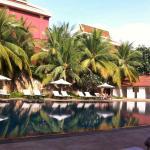 Lotus blanc swimming pool