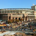 Outside Neyland Stadium