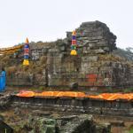 The Mangala Devi Kannagi temple is located on the border of Tamil Nadu and Kerala