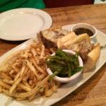 Southside Italian Beef sandwich with Parmesan Garlic fries