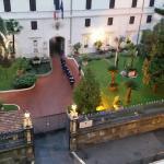 Caserma dei Corazzieri's morning flag raising.jpg