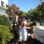 Wedding on 10/09/2010 - Front of Hotel