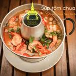 Tom Yum Kung (Thai hot and spicy soup)