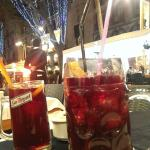 small and large Sangria!