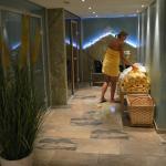 l'espace détente: le sauna