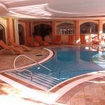 Pool Innen mit Zugang nach aussen