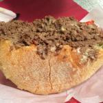 Cheesesteak in a Pouch