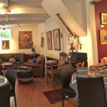 The Wine Lounge inspired by Monet's Living room in Giverney