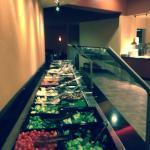 Salad bar! Vegans love u!