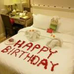 Birthday decoration foc