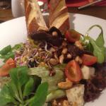 Salatka z wolowina