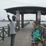le pont entre joal et l'île aux coquillages