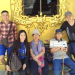 The White Temple with our tour guide Miss A ( in black ) front row on left