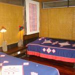 Chambres en bambou