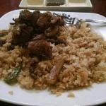 Steak and Teriyaki Chicken