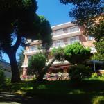 Fachada principal hotel Alcazar Irun