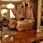 Master bedroom sleeping area