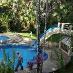 espace piscine de l'hotel
