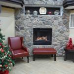 Fireplace (fake, but looks nice)