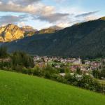 panorama sulla valle e s.vigilio