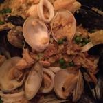 My incredible seafood paella