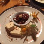 Dessert Tannenhonig Parfait
